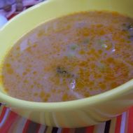 Červená hrášková polévka recept