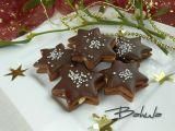 Čokoládové hvězdičky s kokosovou náplní recept