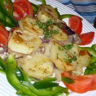 Kotlety zapečené v bramborech recept