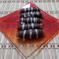 Nepečené ořechové trubičky recept