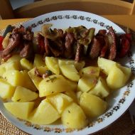 Vepřové ražniči recept