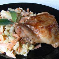 Kuře s celerovým salátem recept