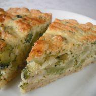 Sýrový koláč s brokolicí recept