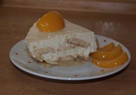 Jablkový dort s tvarohem  nepečený recept