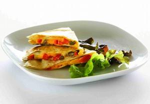 Vegetariánská Quesadilla