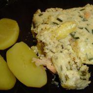 Zapečený losos se sýrem recept