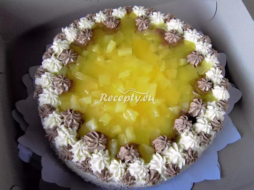 Velikonoční ořechový dort recept  slavnostní pokrmy