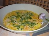 Pampelišková polévka s mrkví a pažitkou recept
