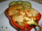 Plněné bezmasé papriky recept