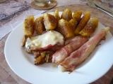 Kuřecí plátek Gyros se slaninou s sýrem recept