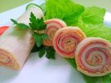 Domaci tortilla roladka s pomazankou z pecene zeleniny recept ...