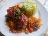 Králičí hřbet v zelenině a bylinkách recept