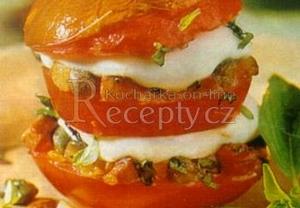 Rajčatový hamburger