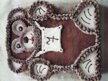Sváteční dort s tvarohovou náplní