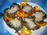 Špenátové placičky se sýrem recept