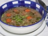 Škvarkovo-chlebová polévka recept