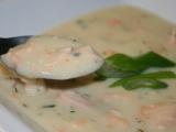 Hustá lososová polévka recept