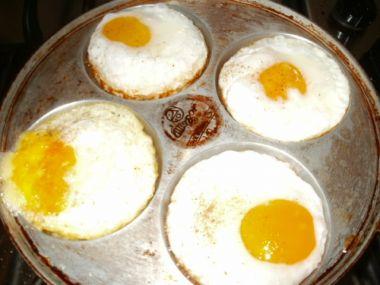 Bagetky s vejcem