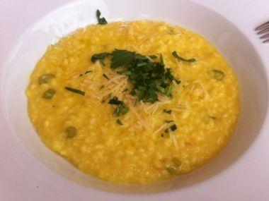Šafránové risotto s mascarpone