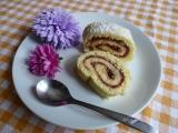 Piškotová roláda s marmeládou recept