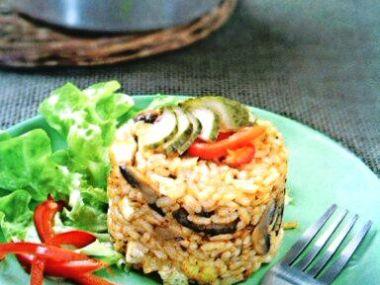 Rýžové rizoto s tofu