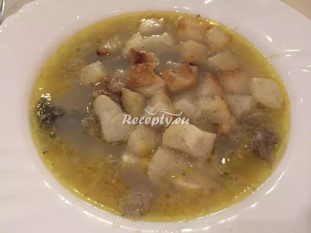 Rybí polévka se zeleninou recept  polévky