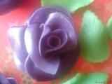 Marcipánové růže s postupem recept