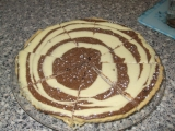 Tvarohovo-čokoládový koláč recept
