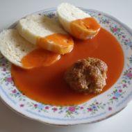 Rajská omáčka s koulemi od babičky recept