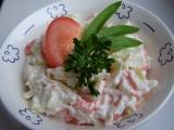 Krabí salát recept