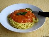 Cuketová omáčka na špagety II recept