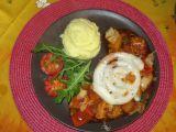 Bílá klobása na zeleninovém lůžku recept