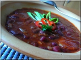 Fazolová gulášovka recept