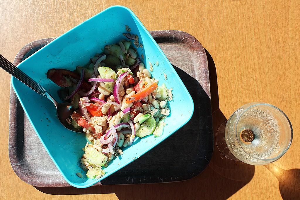 Piknikový rychlý salát recept