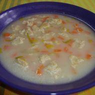 Drožďová polévka s knedlíčky recept