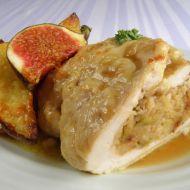 Krůtí roláda s fíkovo-mandlovou náplní recept