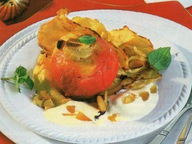 Pečená jablíčka s amarettem a marcipánem