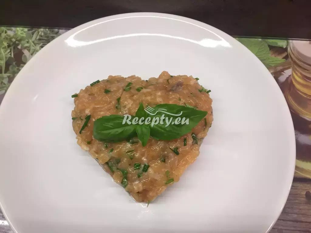 Lososová pomazánka se sýrem recept  pomazánky
