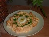 Tykvový salát s křenem recept