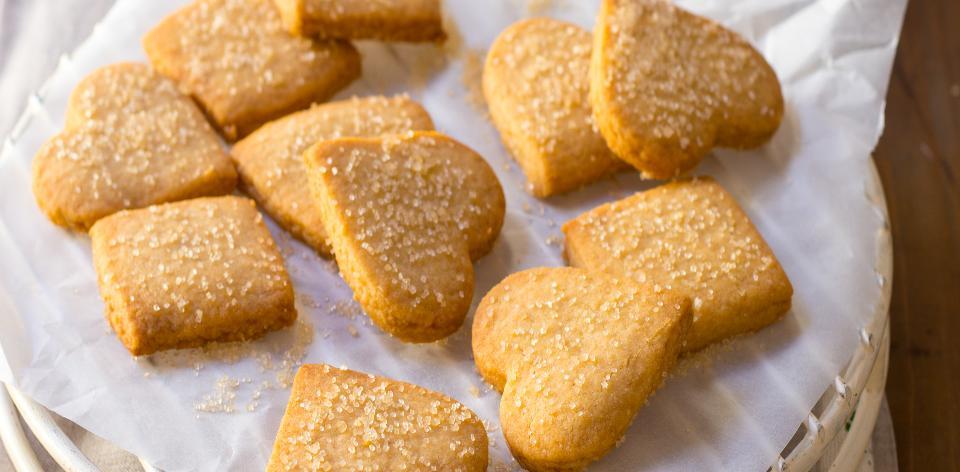 Sušenky ze slaného másla