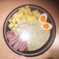 Zdravější koprová omáčka recept