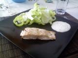 Pečený losos v alobalu recept