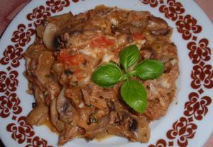 (nejen) Tuňáková směs s mozzarellou