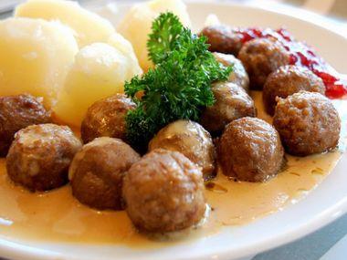 Köttbullar  švédské masové kuličky