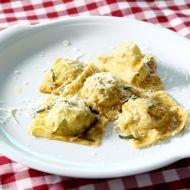 Ravioli plněné houbami a brambory recept