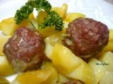 Kuličky z vepřového masa plněné růžičkovou kapustou recept ...