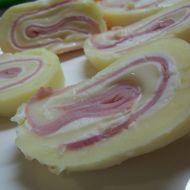 Sýrová nepečená roláda recept