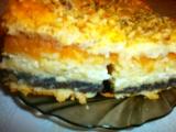 Lídin vrstvený koláč recept