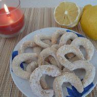 Křehké vanilkové rohlíčky recept