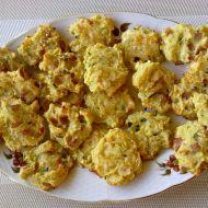 Bramborové placičky se šunkou a sýrem recept